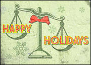 Legal Holiday Card