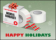 Medical Holiday Greeting Card