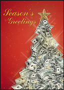 Money Tree Christmas Card