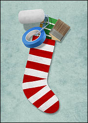 Painter's Stocking