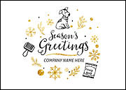 Pet Groomers Christmas Card