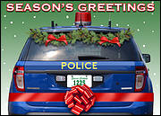 Police Holiday Card