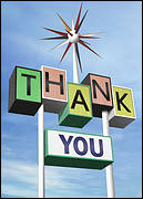 Roadside Thank You Card