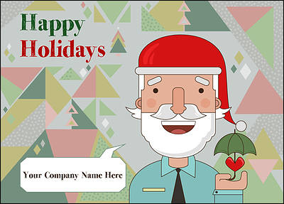 Personalized Christmas Cards for Your Business