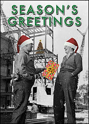 Site Laborers Christmas Card