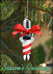 Sparkplug Ornament