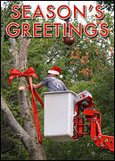 Tree Service Christmas Card